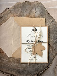 TOP 30 Chic Rustic Wedding Invitations from Etsy | http://www.deerpearlflowers.com/top-30-chic-rustic-wedding-invitations-from-etsy/