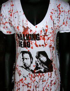 DiY The Walking Dead Top Zombies Daryl Dixon Rick by ellensdiy, $22.00