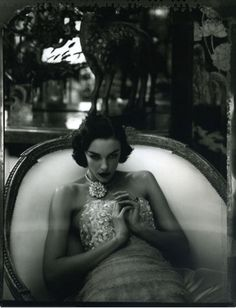 Chanel Haute Couture by Karl Lagerfeld, photographed in the apartment of Coco Chanel