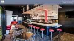 Cups - La Jolla. Design by Orness Design Group, INC. FCSI has members with Orness Design Group. #design #foodservice #restaurant #bar #cafe