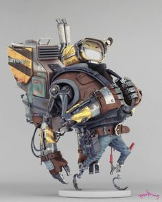 felix ip。蟻速畫行: CG Robot Art by ddjimenez