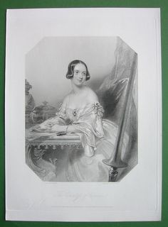 Queen Victoria Court Beauty Countess Craven