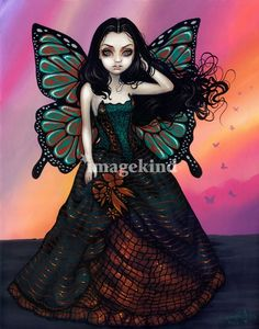 Butterfly Sunset by Jasmine Becket-Griffith