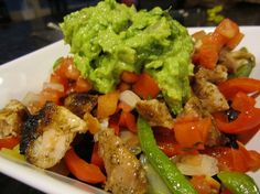 Copycat Chipotle Fajita Chicken Burrito Bowl [Recipe] - Slow Carb Diet Experiments