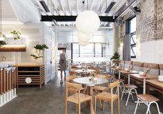 The Rabbit Hole - Organic Tea Bar de Matt Woods, Diseño, Redfern - Australia »Retail Design Blog
