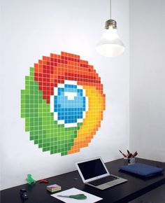 Stickaz :: Chrome - Wall Decals