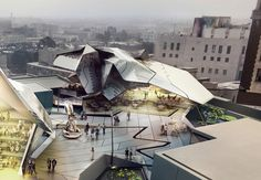 """Take a peek at Tom Wiscombe's """"underground"""" Old Bank District Museum scheme for L.A. 