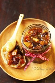 Christmas jam A sun lunch Veggie Recipes, Cooking Recipes, Christmas Jam, Compote Recipe, Vegetable Drinks, Healthy Eating Tips, Food Menu, Food Gifts, Easy Meals
