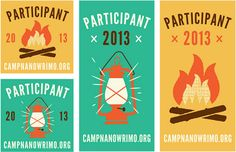 Brave the Woods: Camp NaNoWriMo Brand Identity