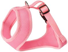 Coastal Pet Products Nylon Comfort Soft Adjustable Dog Harness, Small, Bright Pink *** Learn more by visiting the image link. (This is an affiliate link and I receive a commission for the sales)
