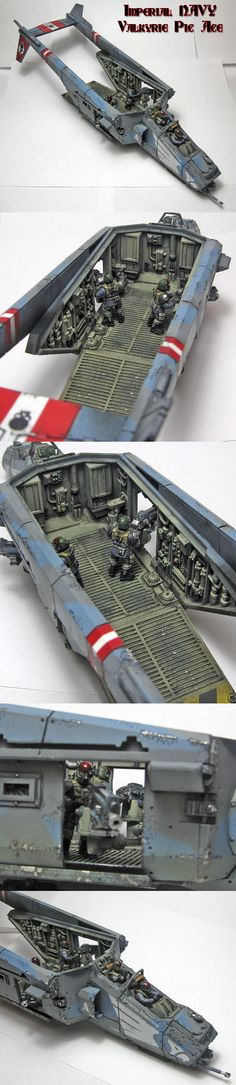 Imperial Guard Valkyrie part one