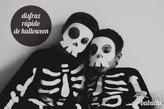 Halloween costume ~ disfraz de esqueleto by baballa :)
