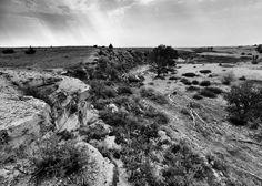 Threshing Machine Canyon, near WaKeeney, KS.
