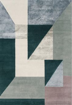 Trisquare Rug by Wovenground