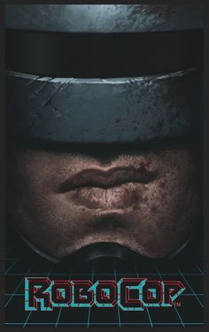 Robocop fan poster, Yuri Shwedoff on ArtStation at http://www.artstation.com/artwork/robocop-fan-poster