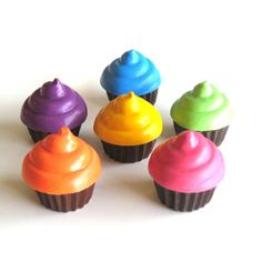 """Cupcake Crayons would be cute gifts for guests especially with """"cup cake"""" birthday cake!"""