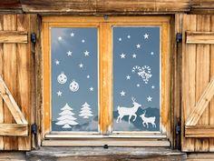 Willst du deine Fenster zum Weihnachtsfest noch aufschmücken oder deine Kinder überraschen?