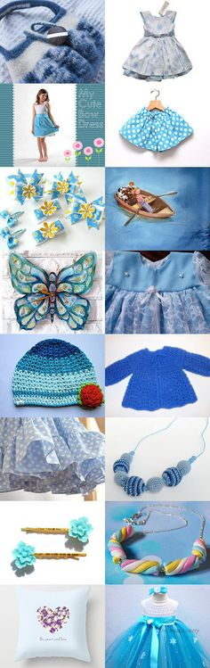 Sweet girl blues by Renata on Etsy--Pinned with TreasuryPin.com