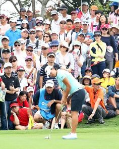 Today is the last for The Sunrise LPGA Taiwan Championship in Taiwan!  It's certified by the U.S. Ladies Professional Golf Association.  Let's go golfing: http://www.lpgataiwan.com/