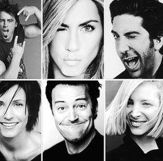 Matt Leblanc + Jennifer Aniston + David Schwimmer + Courtney Cox + Matthew Perry…
