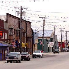Nome, Alaska I have walked those streets. :)