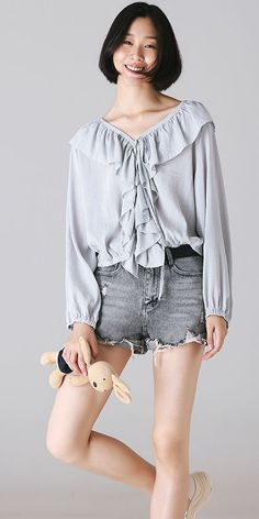 2033c0b51b6 Fashion Cute Cotton Shirt Women Fall Tops C8336 Fall Tops