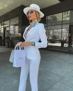 Suit Fashion, Look Fashion, Fashion Outfits, Womens Fashion, Luxury Fashion, Classy Outfits, Stylish Outfits, Elegantes Outfit, Looks Chic