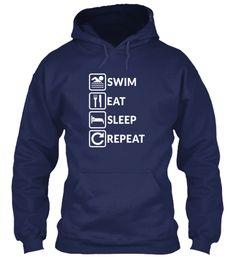 SWIM EAT SLEEP REPEAT | Teespring
