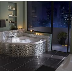 1000 images about bathroom on pinterest angles merlin and outdoor spa - Baignoire d angle 135 x 135 ...