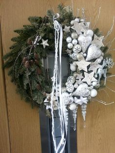 Christmas wreath by Zuzana Kollarova