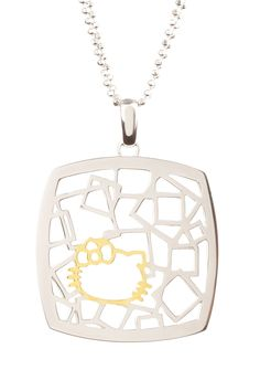 Hello Kitty Pendant Necklace - how adults wear HK. :P