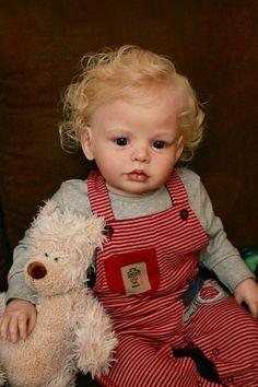Reborn Lena Now A Boy by Puddin'Cake Babies | eBay
