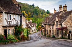The Picturesque Village of Castle Combe in the Autumn, Wiltshire, England by Joe Daniel Price on 500px