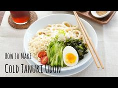 Cold Tanuki Udon 冷やしたぬきうどん • Just One Cookbook