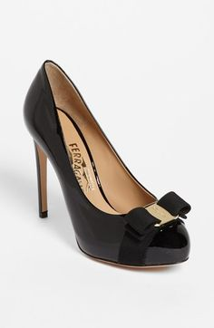 Salvatore Ferragamo 'Rilly' Pump available at #Nordstrom