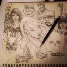 #characters #sketch - @keukeu   Webstagram Wonderful Picture, Tag Art, Designs, Graffiti, Doodles, Sketch, Princess Zelda, School, Drawings