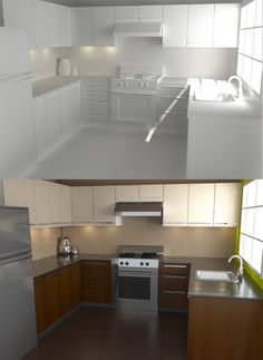 Model, Texture, and Render a Photorealistic Kitchen in Blender and Yafaray