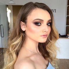 Love this eye makeup @jeni_zinovieva  #anastasiabeverlyhills