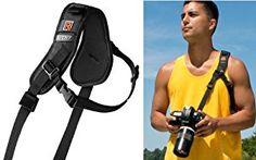 Black Rapid RS-Sport Strap - with Built-in Underarm Defense System - http://electmecameras.com/camera-photo-video/accessories/binocular-camera-camcorder-straps/black-rapid-rssport-strap-with-builtin-underarm-defense-system-com/