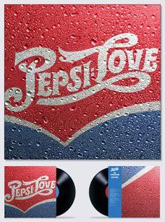 Pepsi Love by Vasava , via Behance
