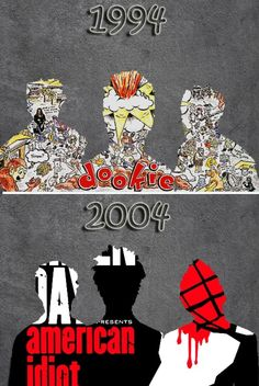 Greenday Band Music Punk a3 Poster Print hal332