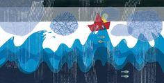 Par Julie Robert J'adore les albums sans texte! Il y a tant à explorer, tant à contempler. Est-ce que vous les utilisez dans votre classe? Peut-être ne savez-vous pas vraiment comment vous y prend... Julie Robert, Album, Drawings, Explorer, Artwork, Cycle, Nautical, Rain, Illustrations