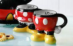 *MINNIE & MICKEY ~ Mugs....Best of Mickey Kitchen  - dream -