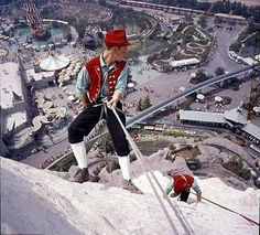 I remember the climbers on the Matterhorn from my childhood!