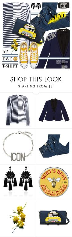 """""""Bretton T"""" by kitty-kimber ❤ liked on Polyvore featuring Sacai, Gucci, Dsquared2, 3.1 Phillip Lim, Chanel, Love Rocks, Karl Lagerfeld and MyFaveTshirt"""