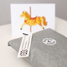 tommy & lottie fairground crazy carousel horse tshirt, sent perfectly packaged - a beautiful baby gift, ideal for baby showers and birthdays.
