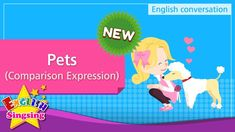 Pets - Comparison Expression (English Dialogue) - Role-play conversation for Kids Cute Animal Videos, Role Play, Conversation, Cute Animals, Family Guy, English, Pets, Movie Posters, Fictional Characters