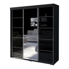 Bedroom Furniture Stores, Furniture Deals, Shabby Chic Furniture, Vintage Furniture, Living Room Storage, Bedroom Storage, Storage Spaces, Armoire Wardrobe Closet, Mirrored Wardrobe