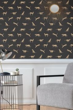 Leaping, striding and prowling big cats cover this design with a wild and stylish ambience. Head over to wallpaperdirect now to see the complete collection Charcoal Wallpaper, Wild Forest, Animal Wallpaper, Big Cats, True Colors, Stylish, Cover, Collection, Design