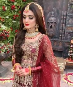 Awesome New Bridal Photoshoot of Hira Mani Bridal Photoshoot, Bridal Shoot, Wedding Dress Pictures, Wedding Dresses, Prom Dresses, Short Frocks, Hira Mani, Official Dresses, Hijab Collection